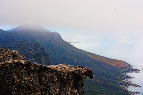 from the summit of Table Mountain