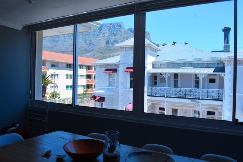 our view of table mountain